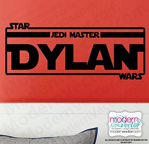 STAR WARS Personalized Name Vinyl Wall Decal ()