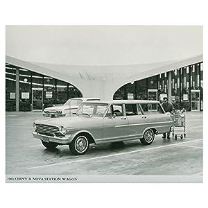 1963 Chevrolet Chevy II Nova Station Wagon Photo Poster