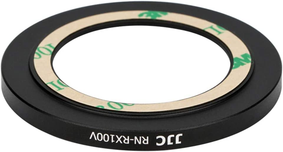 Dedicated Metal 52mm Thread Filter Adapter Lens Adapter for Sony RX100M5A RX100M5 RX100M4 RX100M3 RX100M2 RX100 Installing UV CPL ND Filter Includes 52mm Snap-On Lens Cap /& Cap Keeper String