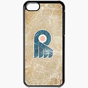 Personalized iPhone 5C Cell phone Case/Cover Skin 15213 flyers wp 23 sm Black