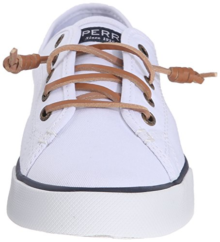 Canvas Casual Women's Shoe View White Pier Sperry Top Sider BFqHHX