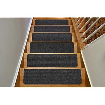 Amazon.com: Stair Treads Collection Indoor Skid Slip Resistant ...