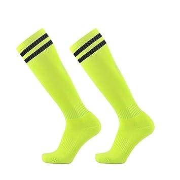 WADUANRUN Calcetines de fútbol para niños/Calcetines de fútbol para ...