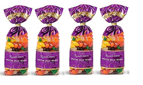 Russell Stover Easter - Russell Stover Pectin Jelly Beans for Easter or Any Occasion - 12 oz. Bag (4 Pack - 48 Total Oz)