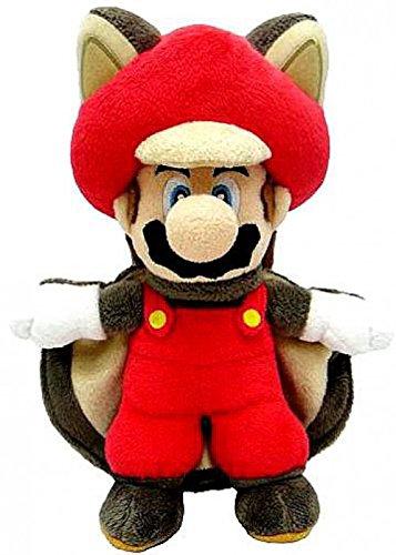 Red Flying Squirrel (Super Mario 14 Inch Plush Flying Squirrel Mario)