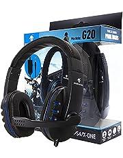 Headset Fone de Ouvido Gamer Para Computador Ps4 Ps5 Xbox One Headphone Gamer com Microfone para Lives