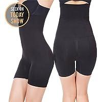Robert Matthew Womens Shapewear Tummy Control Shorts Brilliance High-Waist Panty Mid-Thigh Body Shaper Bodysuit $49.99