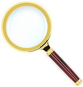 Kadaon Detachable Handle Magnifying Glass