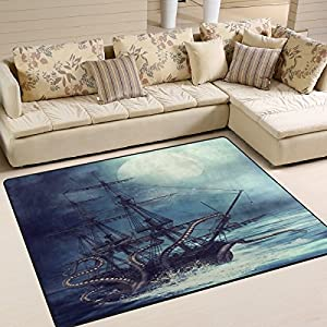 518p6dcZGpL._SS300_ 50+ Octopus Rugs and Octopus Area Rugs For 2020