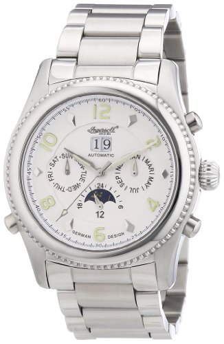 Ingersoll Men Watch yesckson Limited Edition silver IN1213SLMB