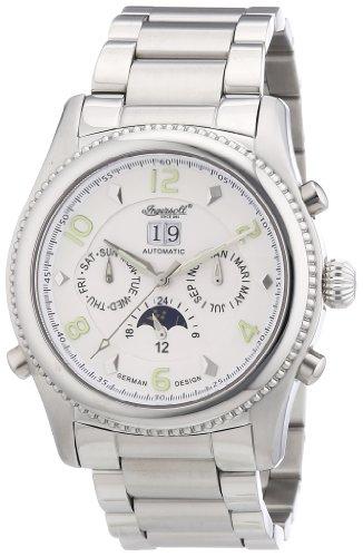 Ingersoll Men Watch yesckson Limited Edition silver IN1213SLMB