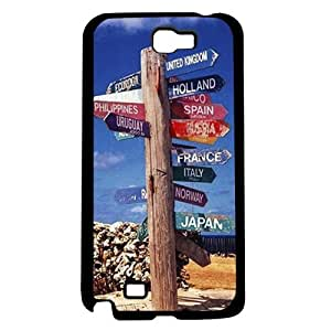 Road Signs to Peace Hard Snap on Phone Case (Note 2 II)