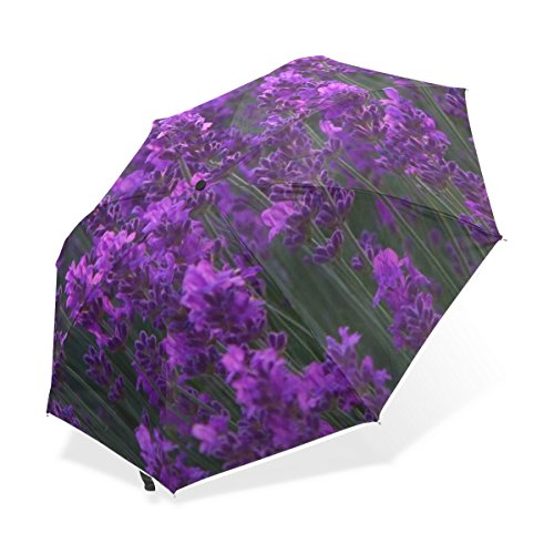 Jstel lavender garden windproof waterproof compact - Parasol anti uv 50 ...