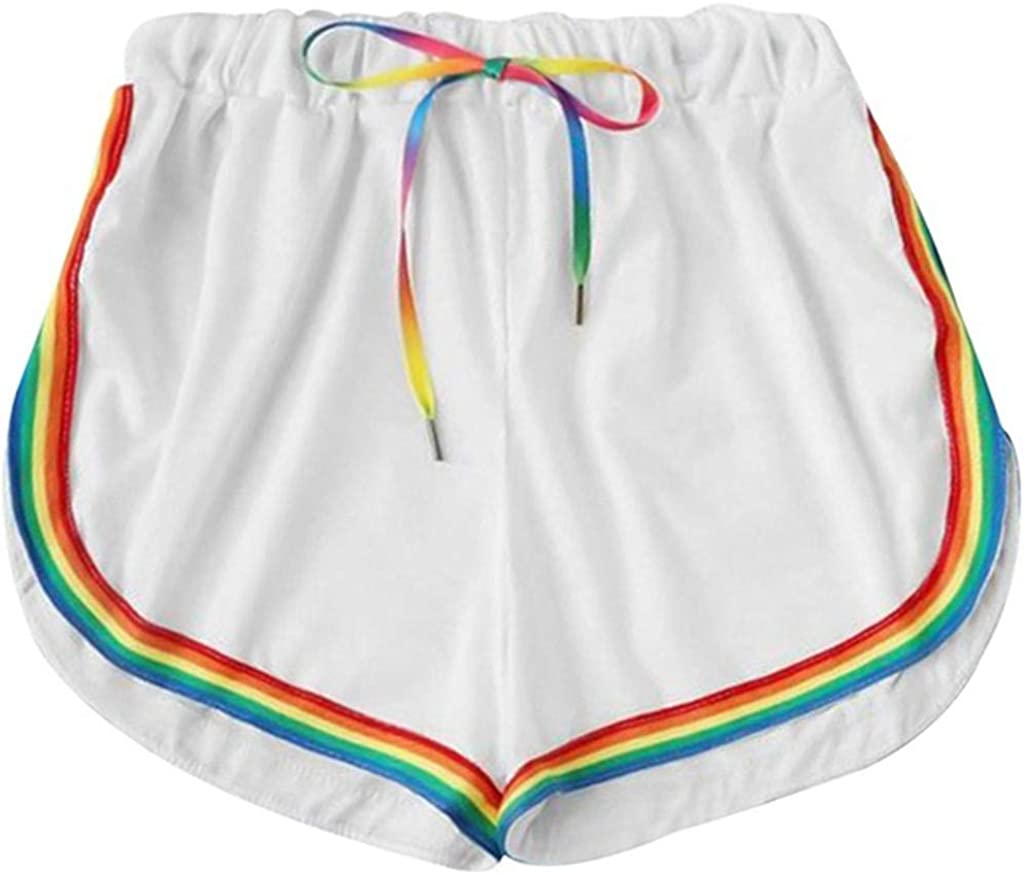 Pantalones Mujer Cortos Deporte Sexy Verano Yoga Running PAOLIAN ...