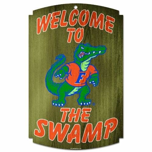 NCAA Florida Gators Wood Sign