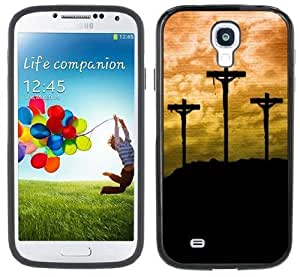 3 Crosses Handmade Samsung Galaxy S4 Black Bumper Hard Plastic CaseKimberly Kurzendoerfer