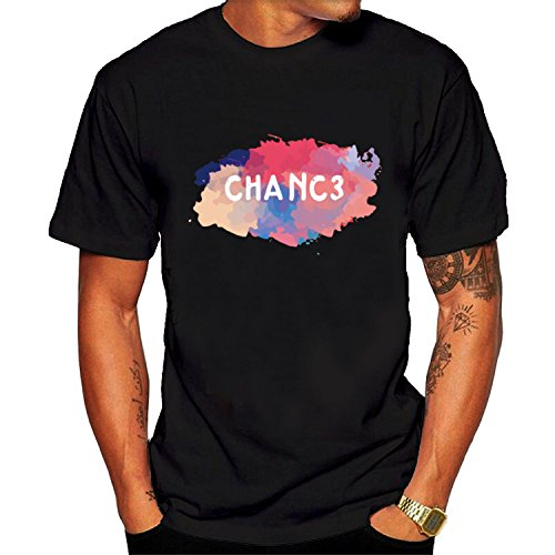 Price comparison product image Men's Chance Coloring Book Tee shirt XXL Black hot.fashion