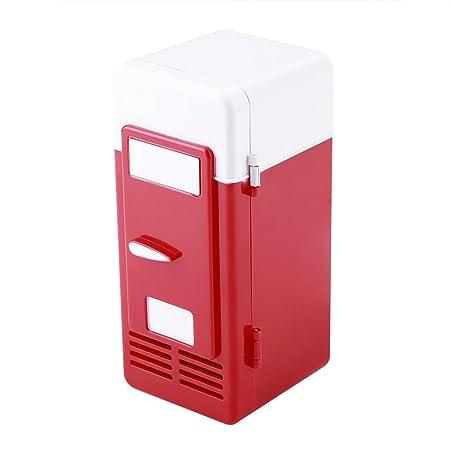 LED Mini Refrigerador USB Bebidas Latas de Bebidas Refrigerador y ...