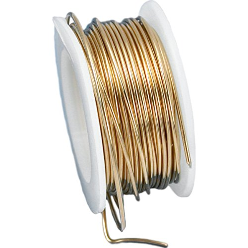 Beadalon Artistic Wire 20-Gauge Non-Tarnish Brass Wire, 6-Yards ()