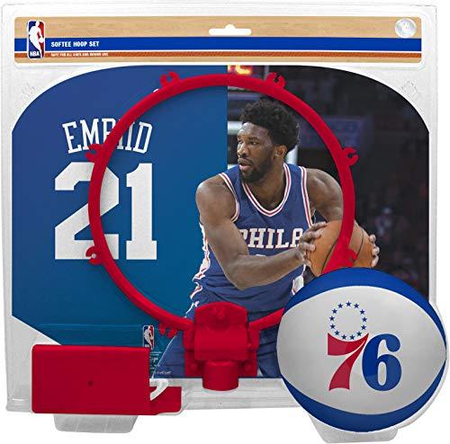 (NBA Joel Embiid NBA Basketball Player Hoop Setnba Player Hoop Set (All Player Options), No Color, One Size)