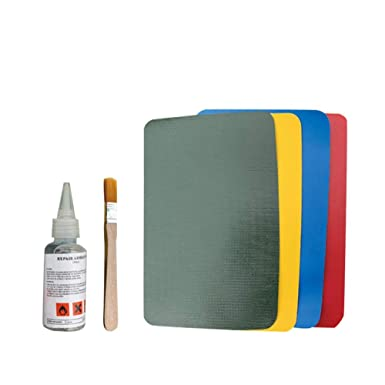 Kayak Rib Inflatable Boat Glue Canoe PVC Dinghy Repair Kit Tool Patch Accessory