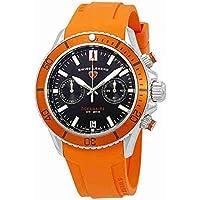 Swiss Legend Oceanaire Chronograph Black Dial Watch SL-13857SM-01-OAS