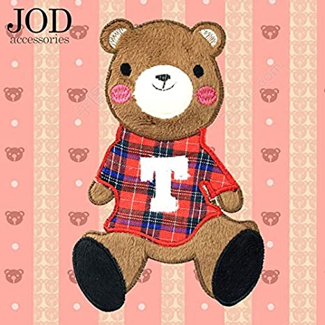 Parches de tela de costura con bordado de oso grande de Jdo ...