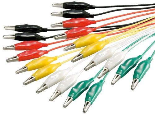 Manax Test Cord, 1 Set of 10, 5 Colours, Length 480 mm, Reinforced Design, 1 Piece, 11426