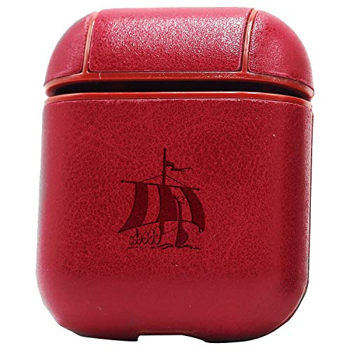 WUERTH (Vintage Pink) Engraved Air Pods Protective Leather Case Cover - a  New Class of Luxury to Your AirPods - Premium PU Leather and Handmade