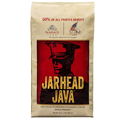 Jarhead Java Coffee, Bold Roast, 32 Ounce