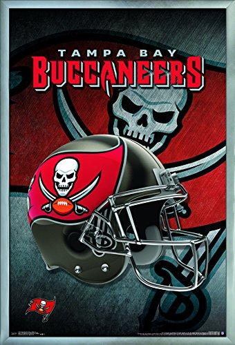 Trends International Tampa Bay Buccaneers-Helmet Wall Poster, 24.25