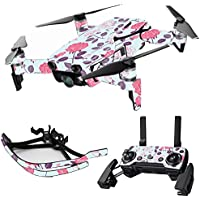 MightySkins Skin for DJI Mavic Air Drone - Vintage Floral | Max Combo Protective, Durable, and Unique Vinyl Decal wrap cover | Easy To Apply, Remove, and Change Styles | Made in the USA