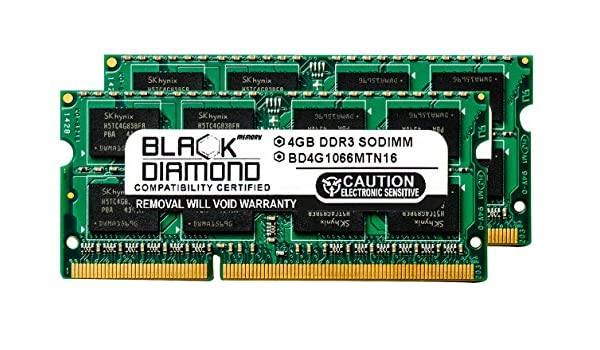 8GB KIT 2 x 4GB HP Compaq G42-241HE G42-241LA G42-243CL PC3-8500 Ram Memory