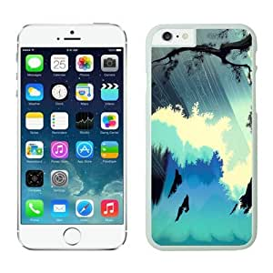Iphone 6 Case 4.7 Inches, Beautiful Art Ocean Splash White TPU Phone Case Cover for Iphone 6 by icecream design