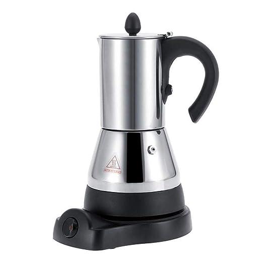 FenRui Cafetera de Acero Inoxidable/Moka eléctrica portátil ...