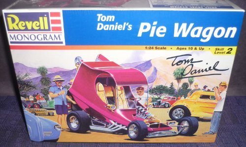Tom Daniels Pie Wagon 1/24th Scale by Model Kits for sale  Delivered anywhere in USA