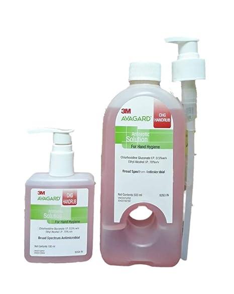 Buy Avagard Chg 500ml Pink Get 1 100ml Bott Free 3m Original