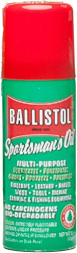 Ballistol Multi-Purpose Travel Size Non-CFC Aerosol Can Lubricant Cleaner