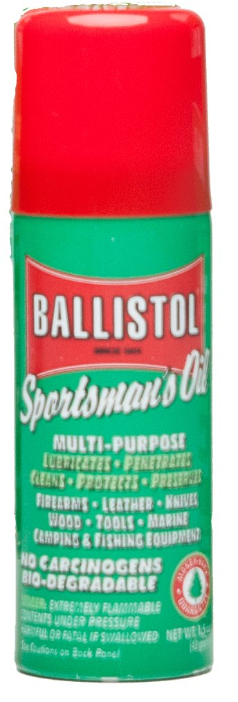 Ballistol Multi-Purpose  Aerosol Can  Lubricant Cleaner Protectant, 1.5-Ounce