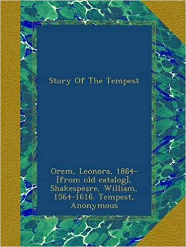 Book Story Of The Tempest