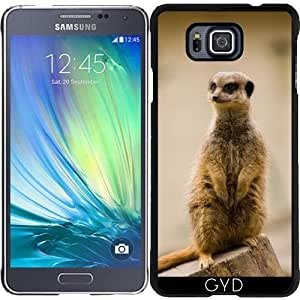Funda para Samsung Galaxy Alpha - Meerkat by WonderfulDreamPicture