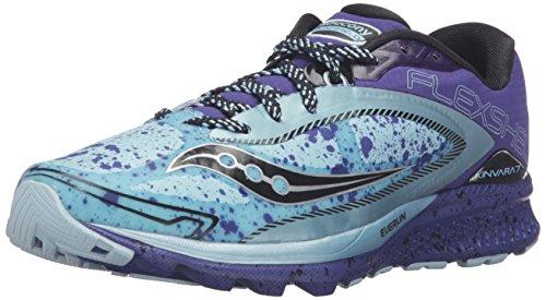 Saucony Women's Kinvara 7 Runshield Running Shoe - Sky/Bl...