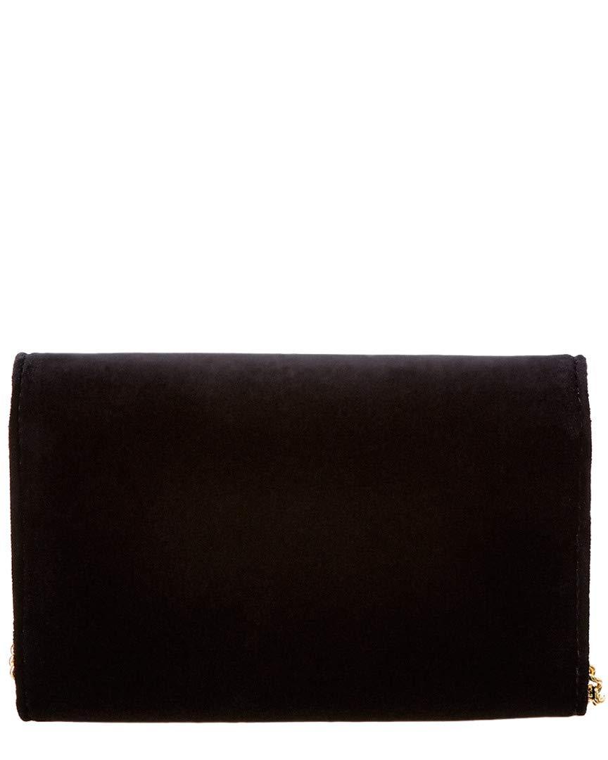 12f1a53e Amazon.com: Fendi Women's Velvet Wallet on Chain Black ...