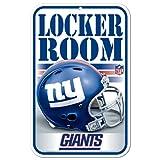 NFL New York Giants 11'' x 17'' Locker Room Sign