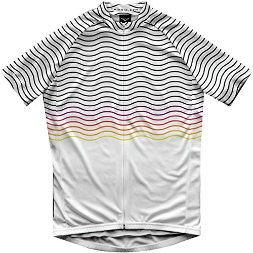 Twin Six Rollers Jersey - Men's White, S