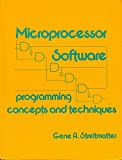 img - for Microprocessor Software: Programming Techniques and Concepts book / textbook / text book