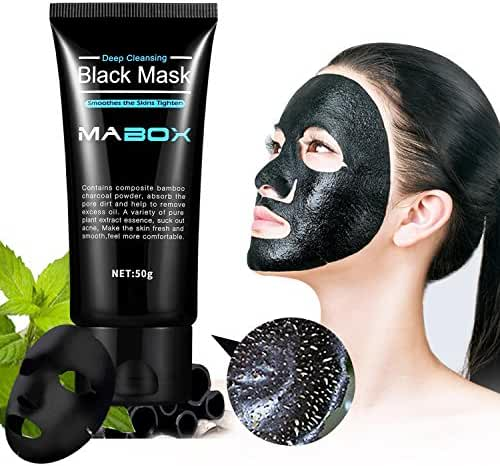 Blackhead Remover Deep Cleansing Peel Off Black Mask Active Charcoal Tearing Mask