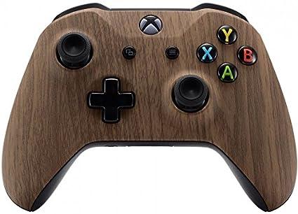 Xbox One Wireless Controller for Microsoft Xbox One - Custom Soft Touch  Feel - Custom Xbox One Controller (Woodgrain)
