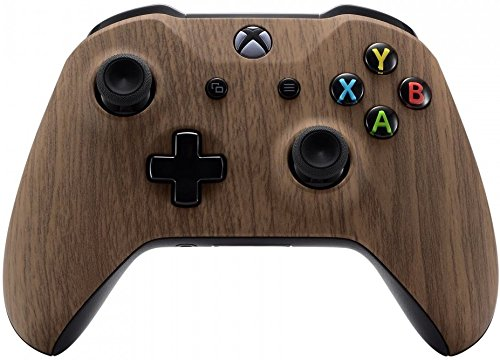 Xbox One Wireless Controller for Microsoft Xbox One - Custom Soft Touch Feel - Custom Xbox One Controller (Woodgrain)