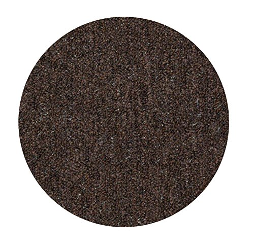 (Home Queen IndoorOutdoor Commercial Chocolate Color Area Rug - 7' Round)